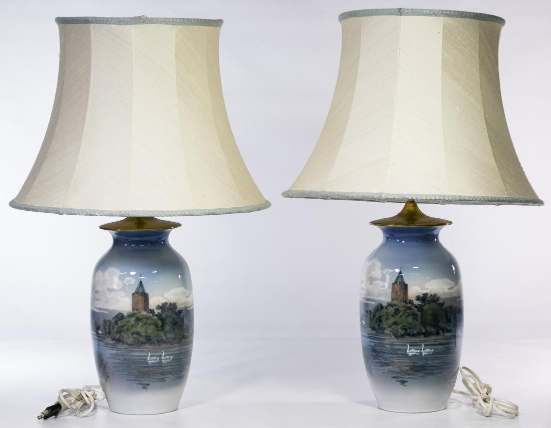 Royal Copenhagen Table Lamps