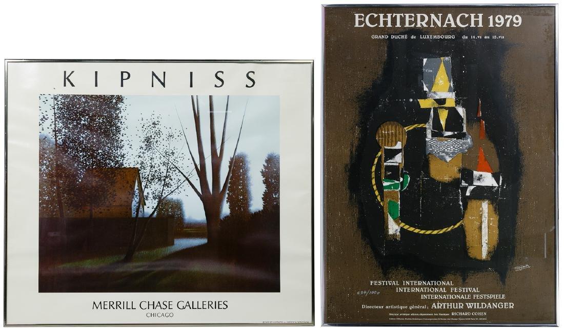 Kipniss and Echternach Posters