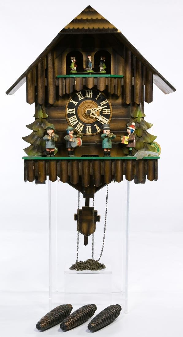 Kuner German Wood Cuckoo Clock