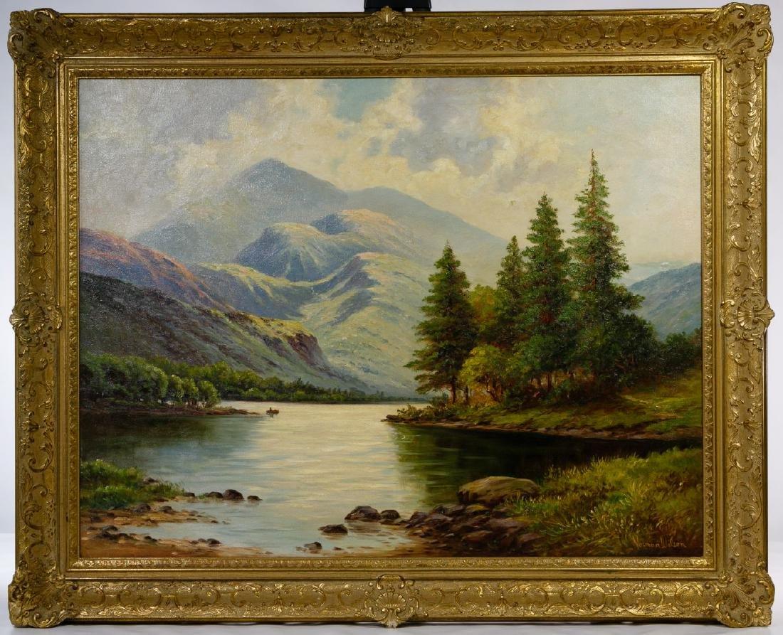 Norman Badgley Wilson (American, b.1906) Oil on Canvas