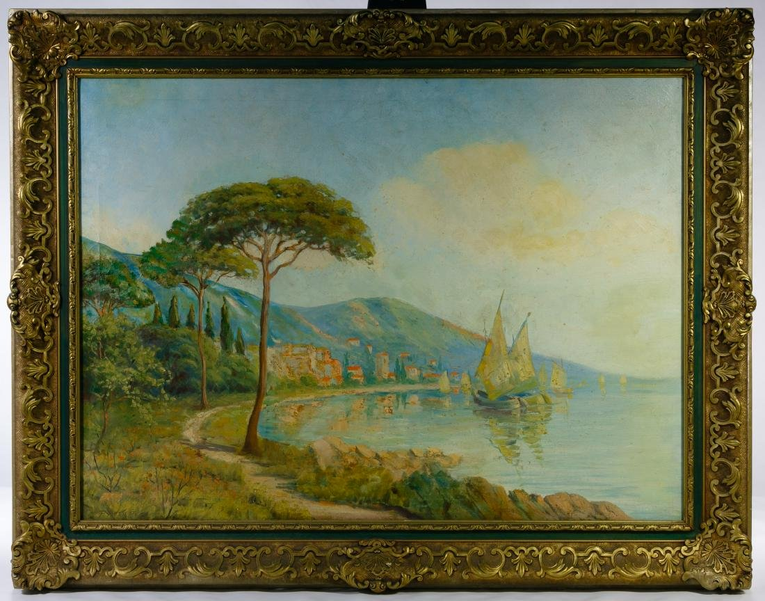 F Rossette (20th Century) Oil on Canvas