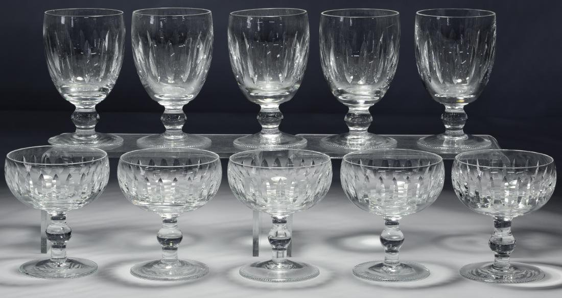 Waterford 'Blarney' Champagne and Water Glasses