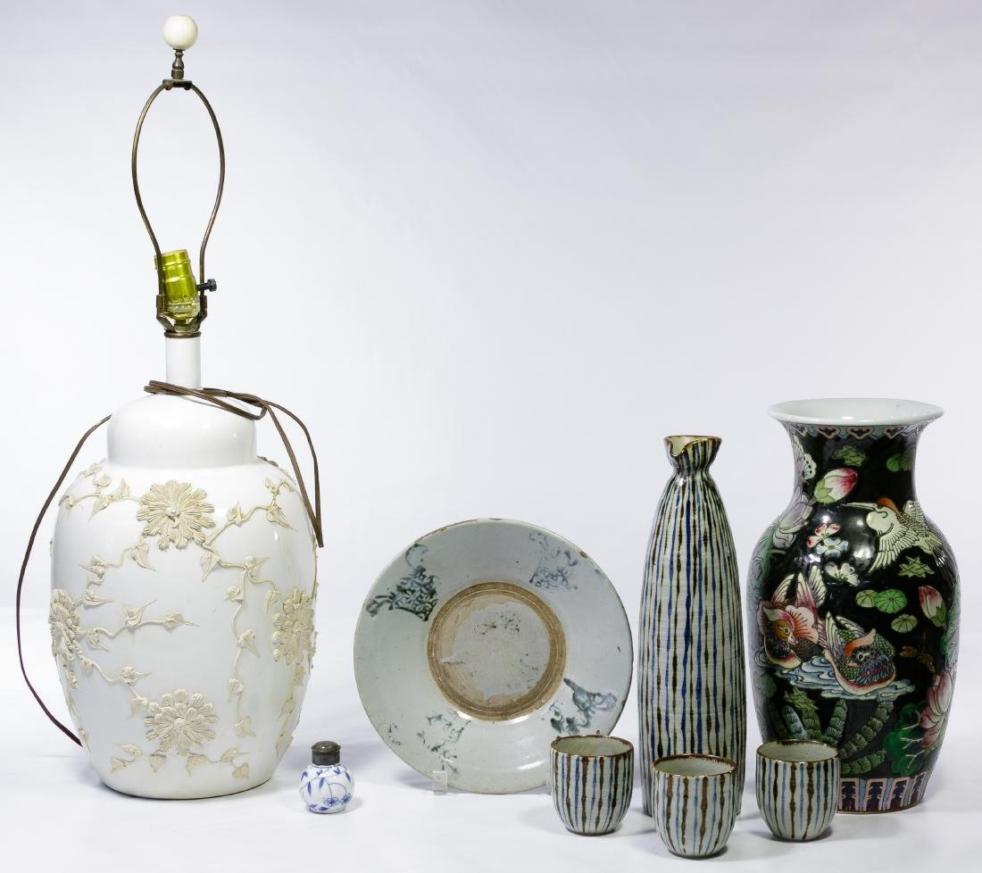 Asian Ceramic Object Assortment