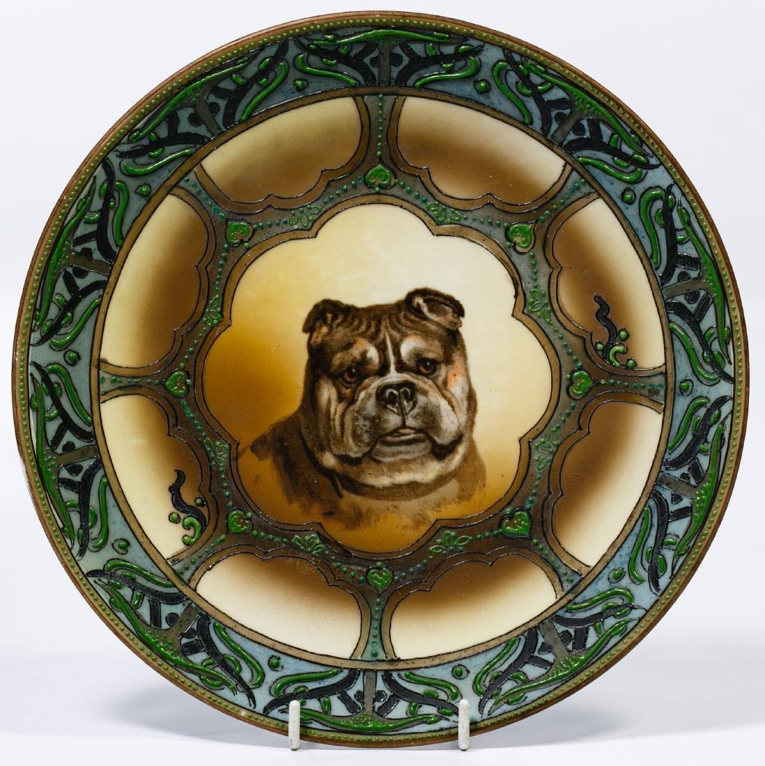 Nippon Dog Ceramic Plate