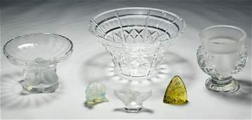 Lalique and Waterford Crystal Assortment