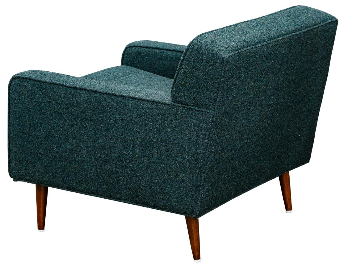 MCM Chair and Ottoman by Milo Baughman - 2