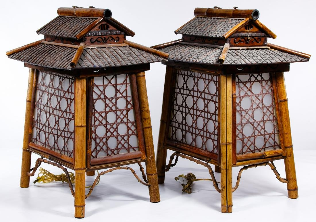 Asian Cricket House Table Lamps