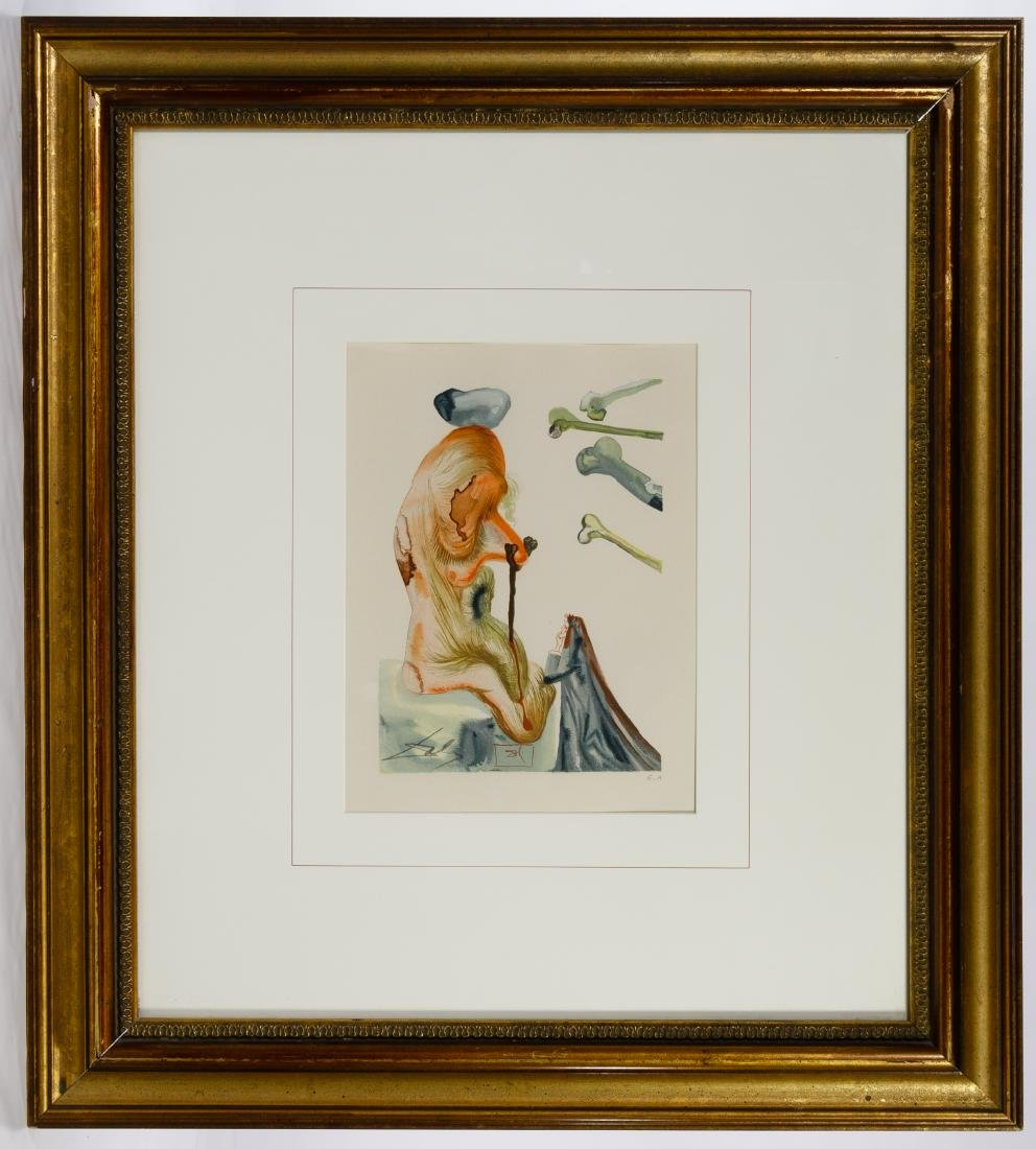 Salvador Dali (Spanish, 1904-1989) 'Divine Comedy'