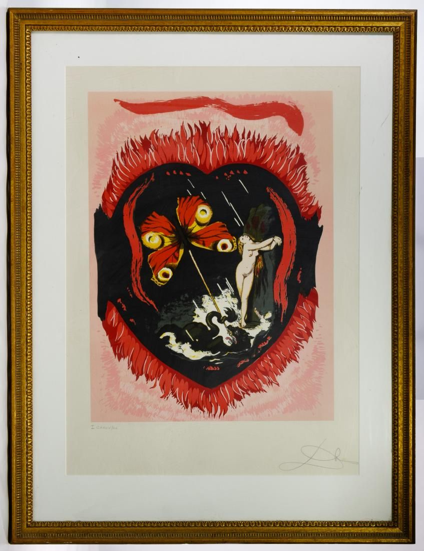 Salvador Dali (Spanish, 1904-1989) 'Le Triomphe'