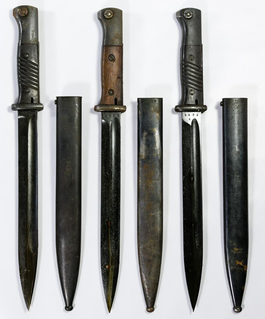 World War II German Bayonet Assortment