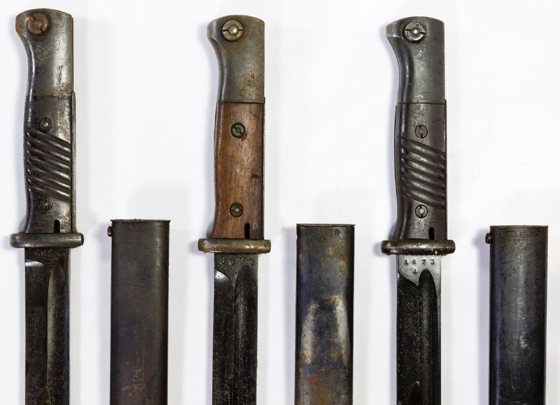 World War II German Bayonet Assortment - 2