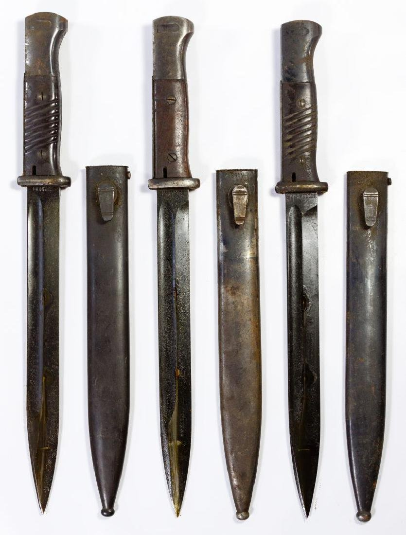 World War II German Bayonet Assortment - 3