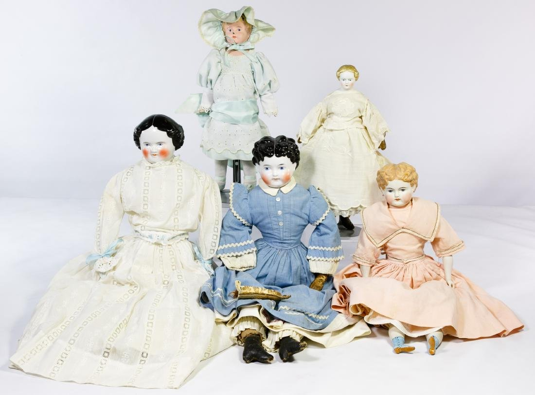 German Bisque and China Doll Assortment