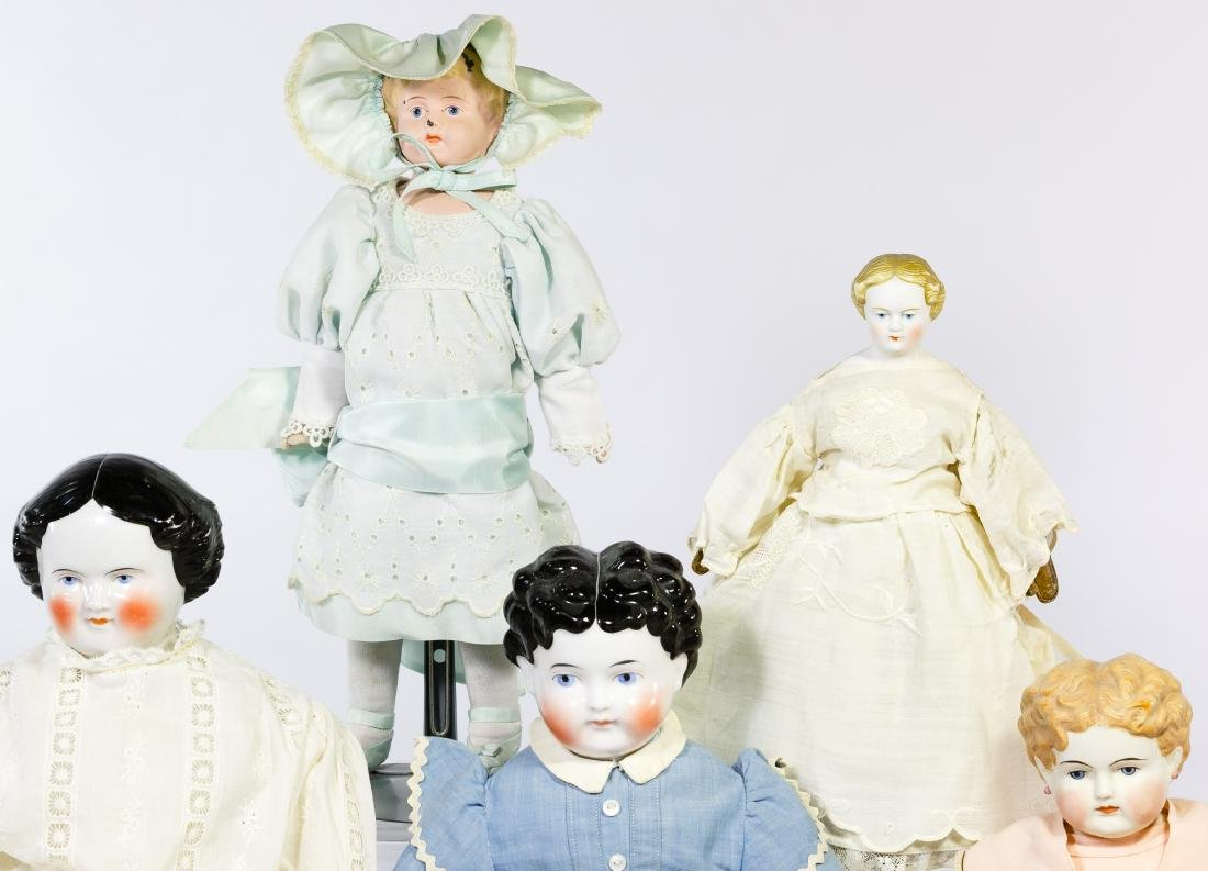 German Bisque and China Doll Assortment - 2