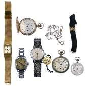 Mixed Pocket and Wrist Watch Assortment