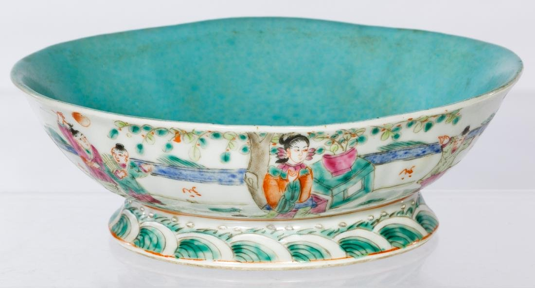 Chinese Qing Bowl