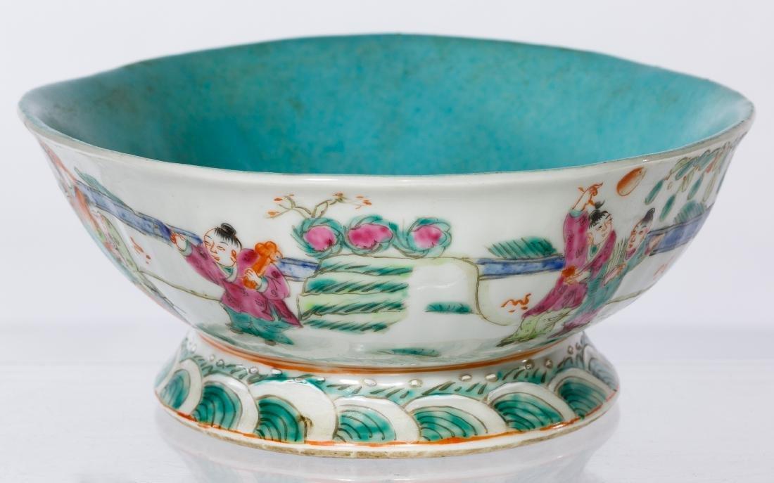 Chinese Qing Bowl - 3