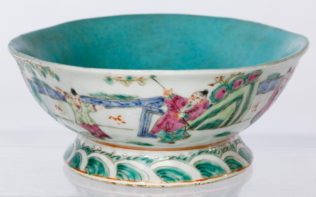 Chinese Qing Bowl - 4