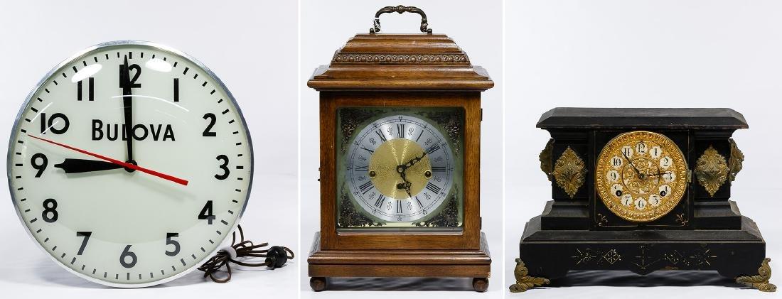 Mantel and Wall Clock Assortment