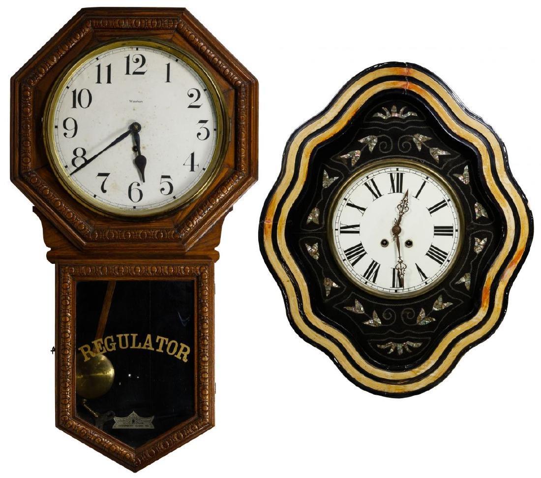 Wood Cased Wall Clocks