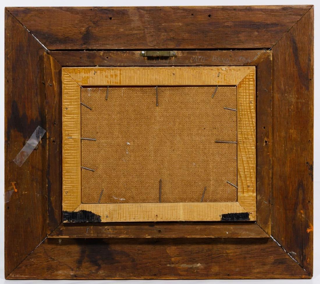 Pati Bannister (American, 1929-2013) Oil on Board - 4