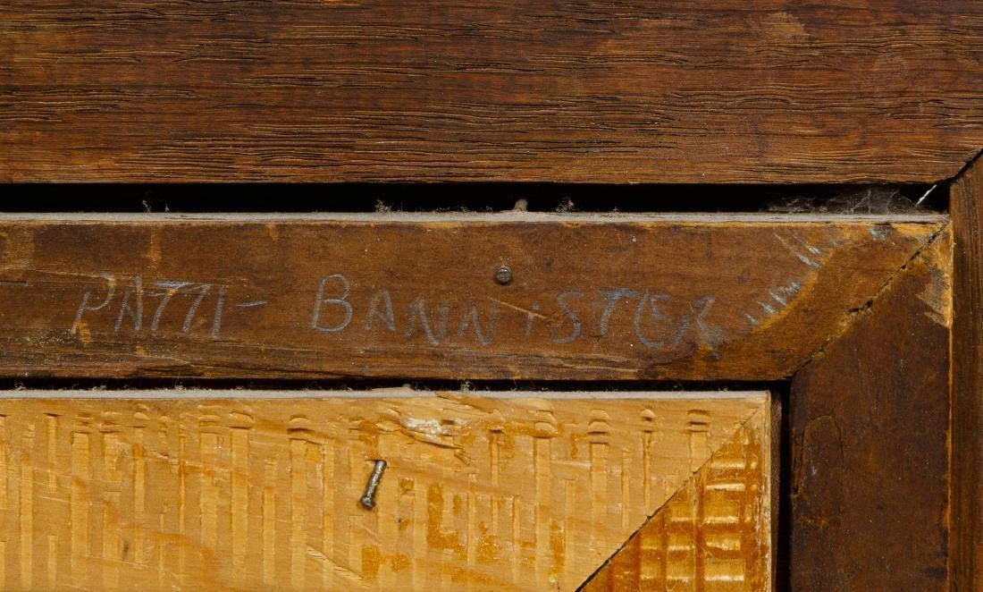 Pati Bannister (American, 1929-2013) Oil on Board - 5