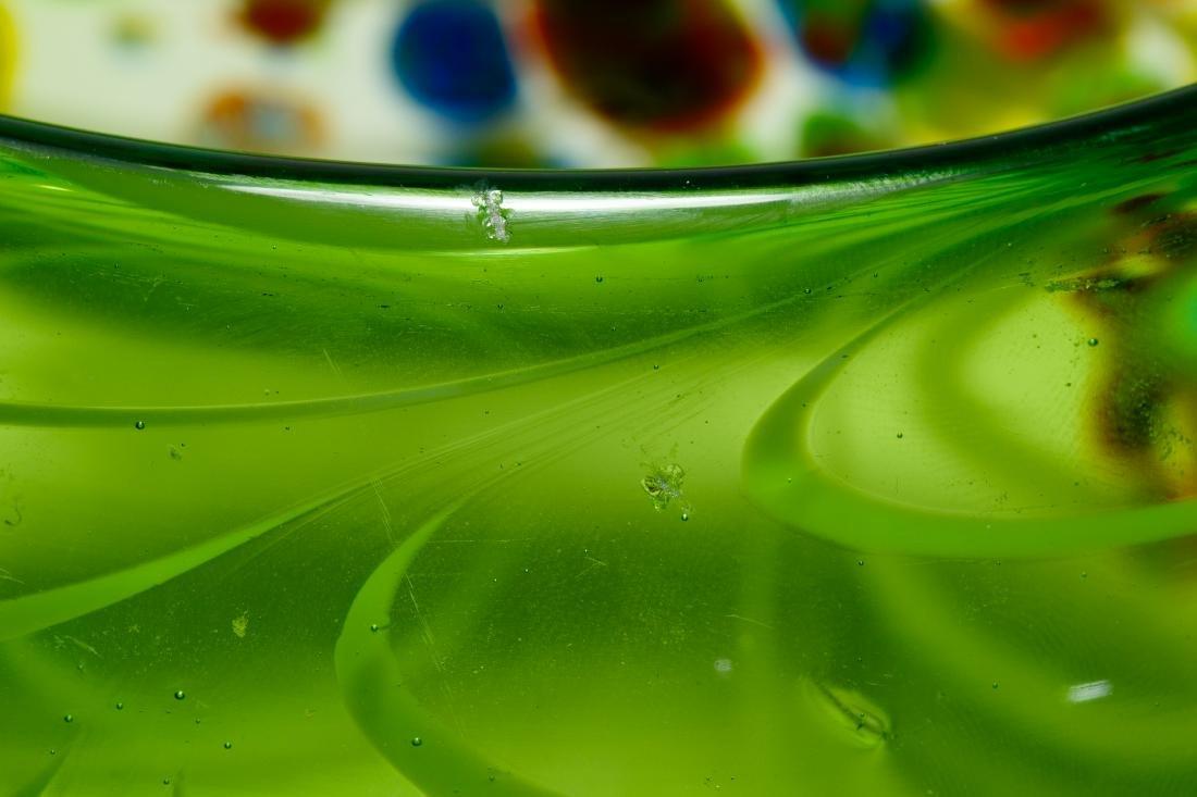 Murano Millefiori Art Glass Bowl - 5