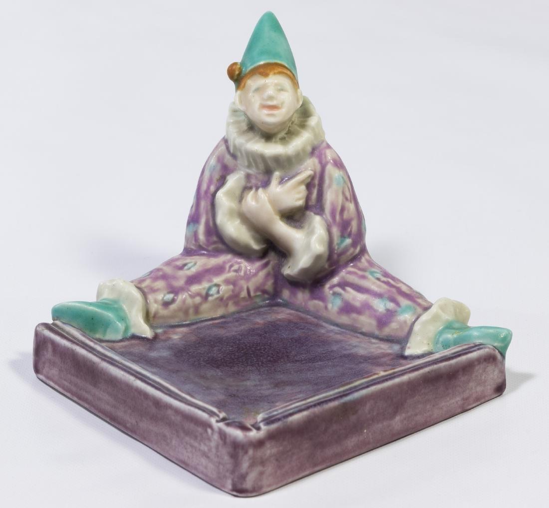 Rookwood #6026 'Harlequin Tray' Figurine