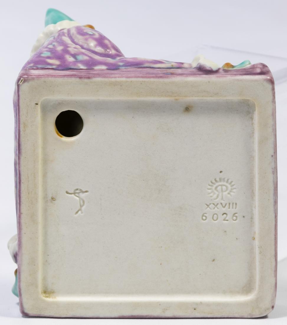 Rookwood #6026 'Harlequin Tray' Figurine - 3