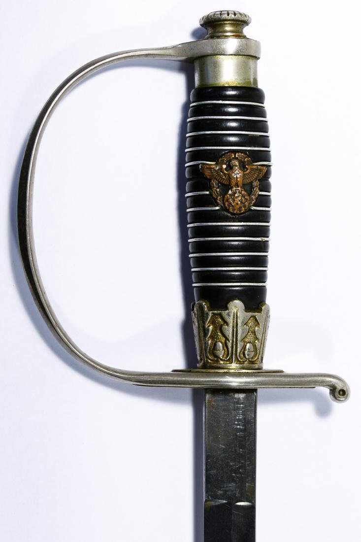 World War II German Police Officer Sword - 4