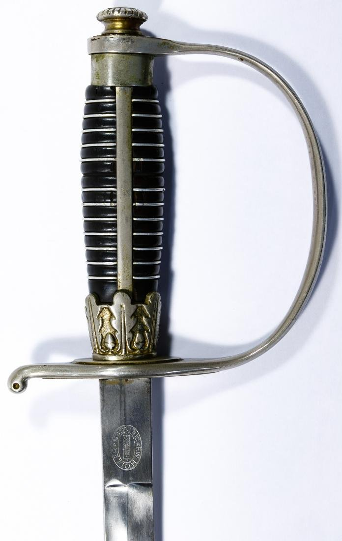 World War II German Police Officer Sword - 5