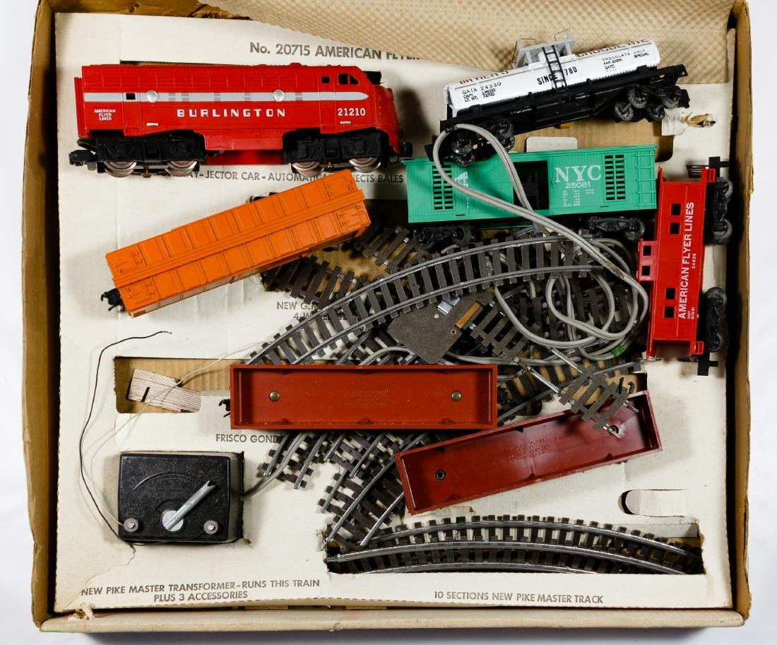 American Flyer and HO Train Assortment - 6