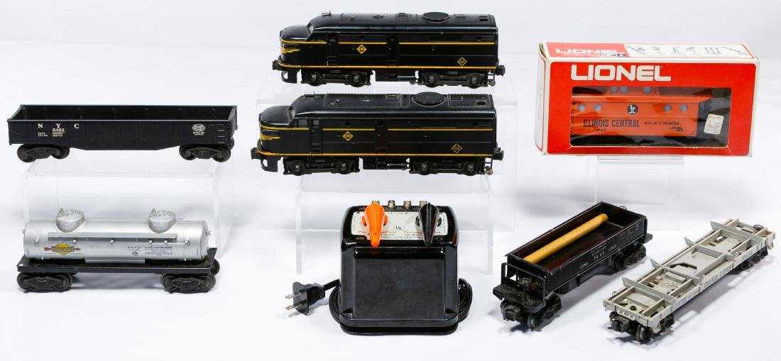 Lionel O27 Gauge Model Train Assortment