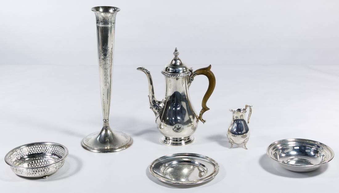 Gorham Sterling Silver Hollowware Assortment
