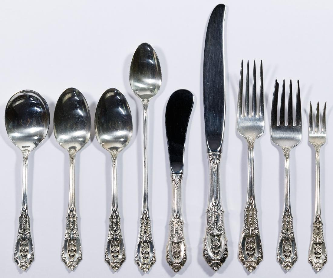 Wallace 'Rose Point' Sterling Silver Flatware