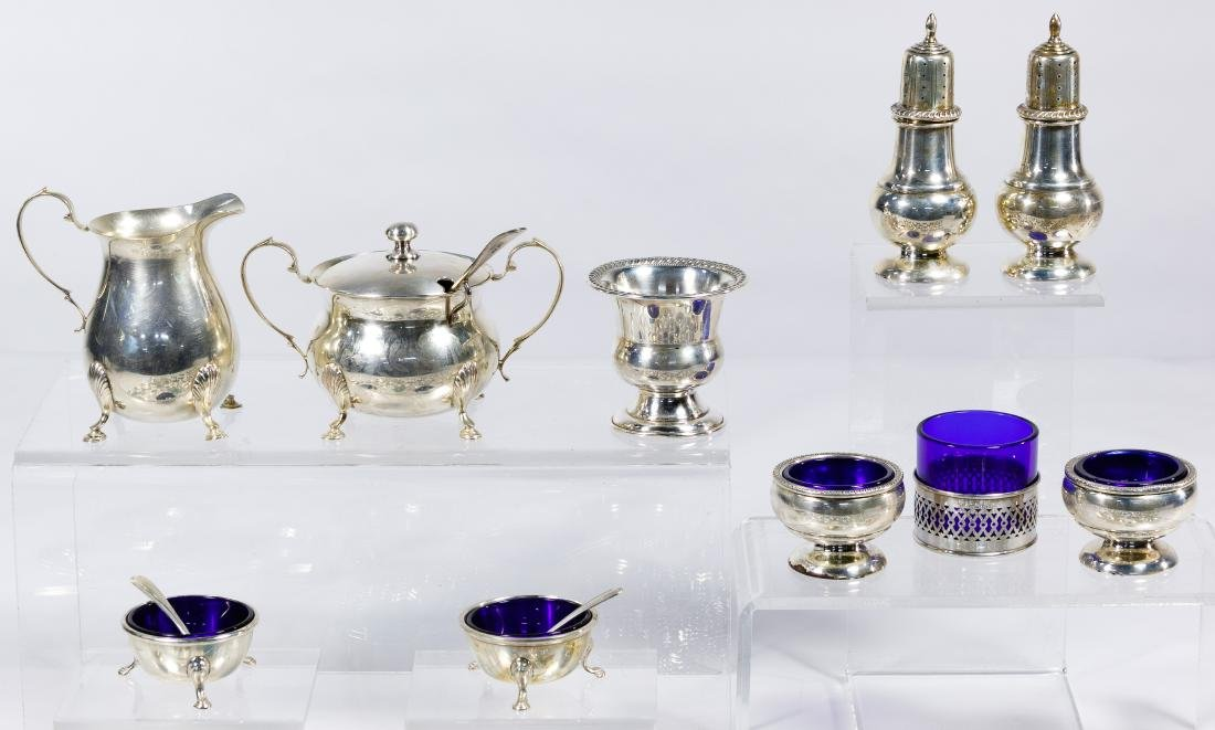 Sterling Silver Object Assortment - 3