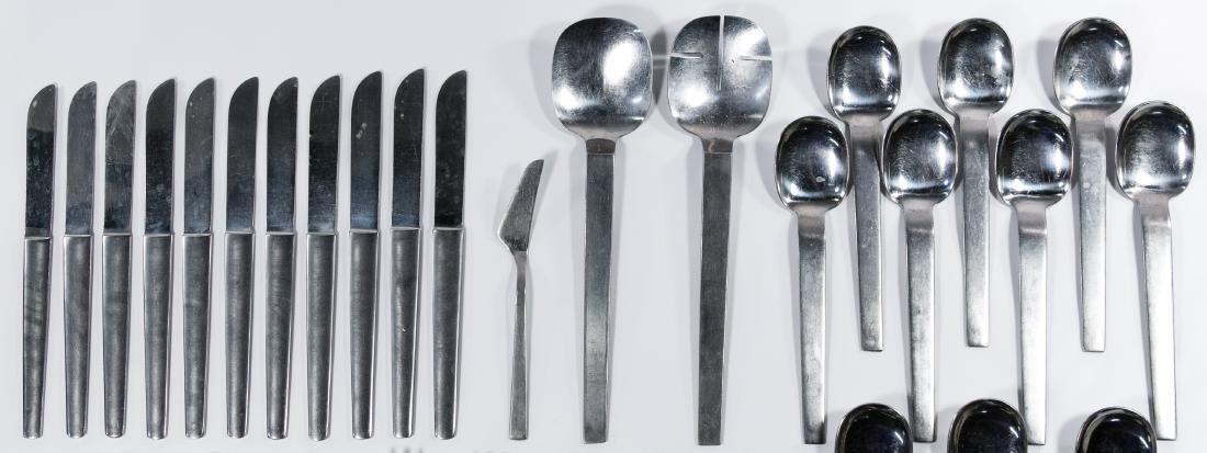 Arthur Salm 'Bordelon' Stainless Steel Flatware Service - 2