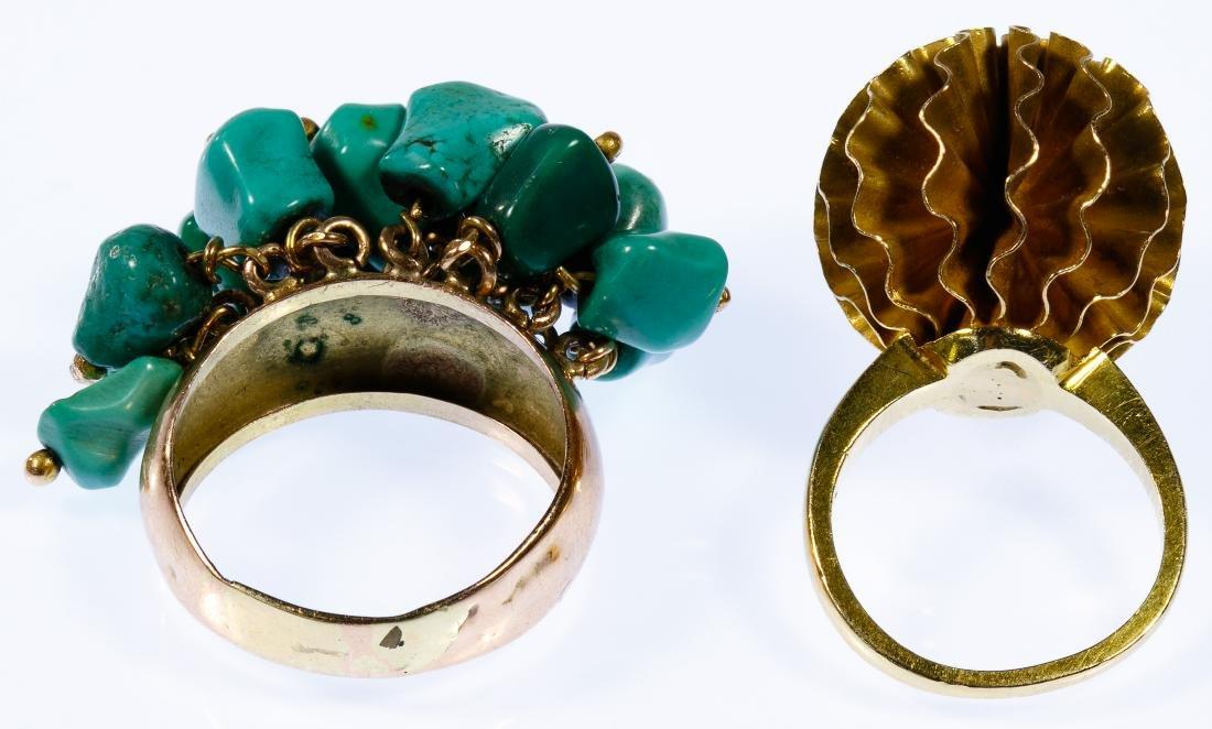 14k Gold Rings - 2