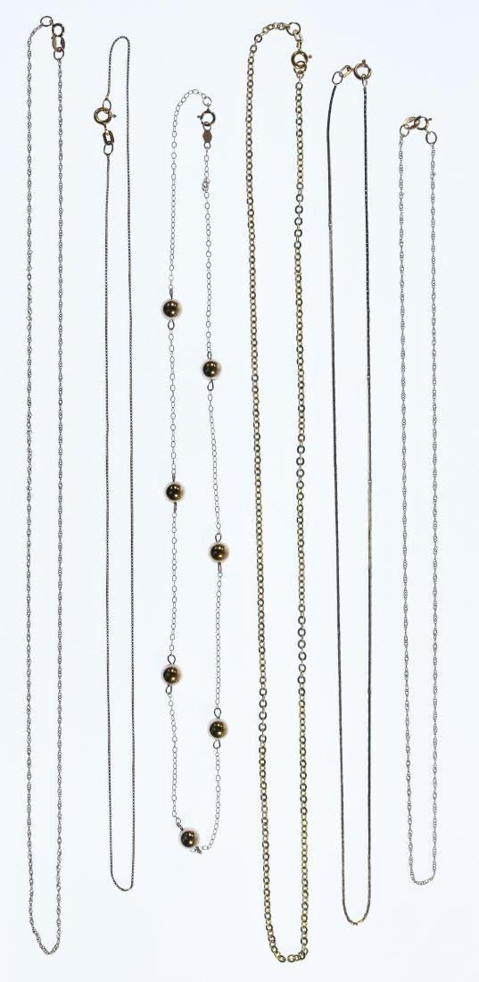 14k Gold Necklace Assortment
