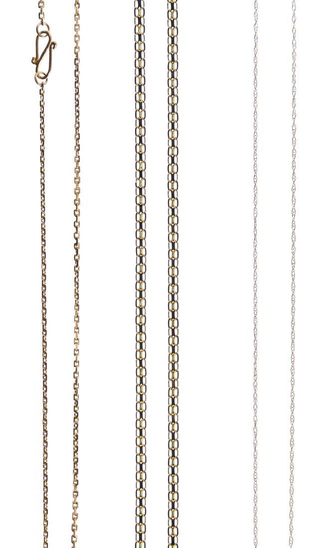 14k Gold Necklaces - 2