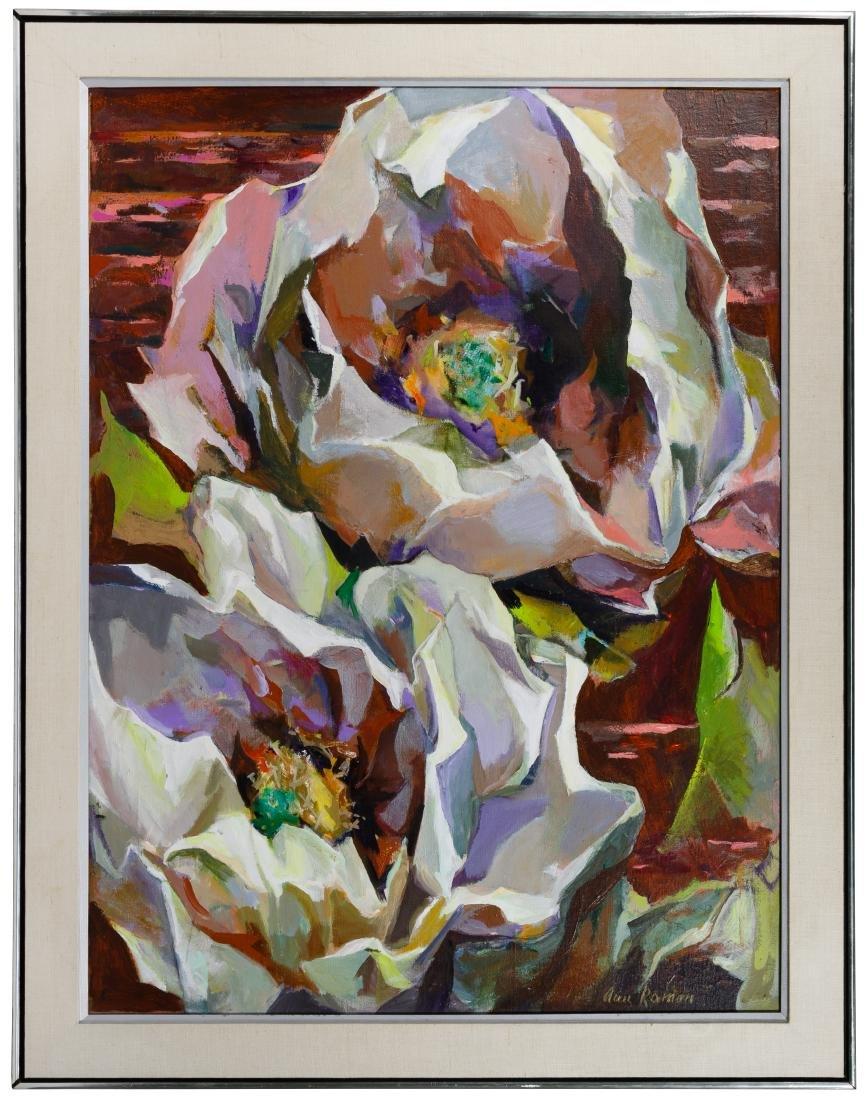 Ann Roman (American, 20th Century) Oil on Canvas