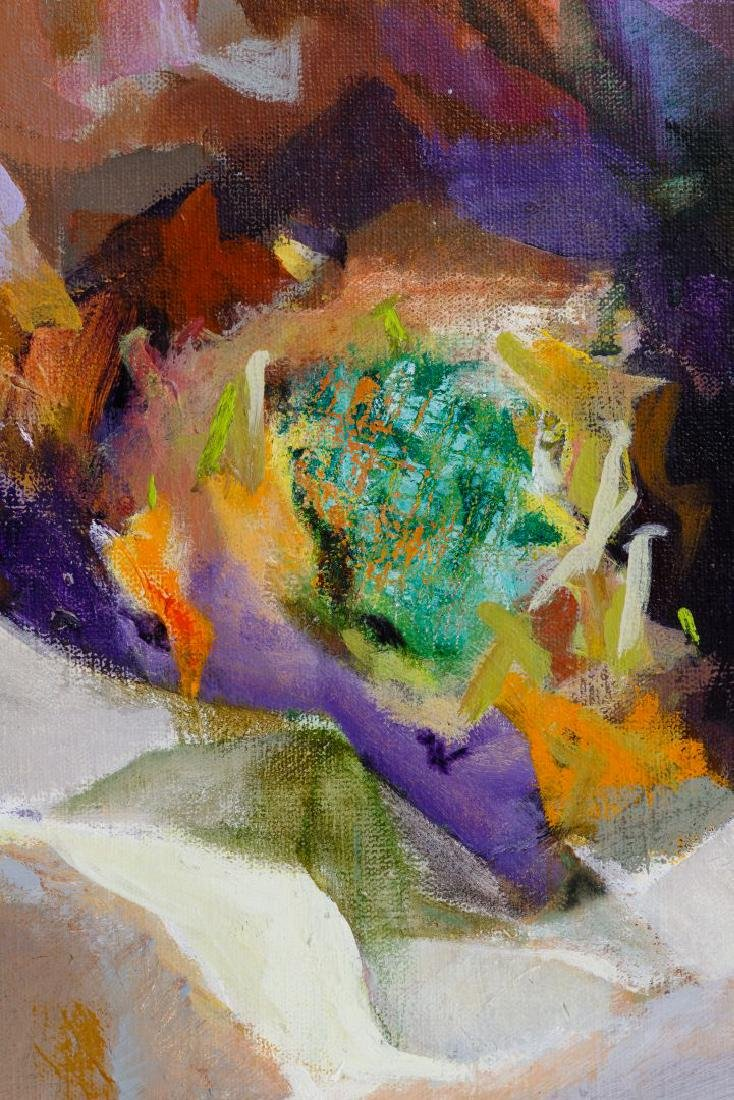 Ann Roman (American, 20th Century) Oil on Canvas - 2