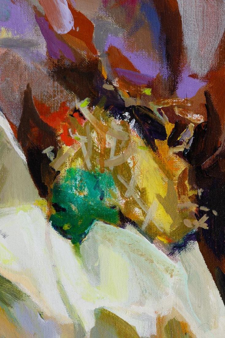 Ann Roman (American, 20th Century) Oil on Canvas - 3
