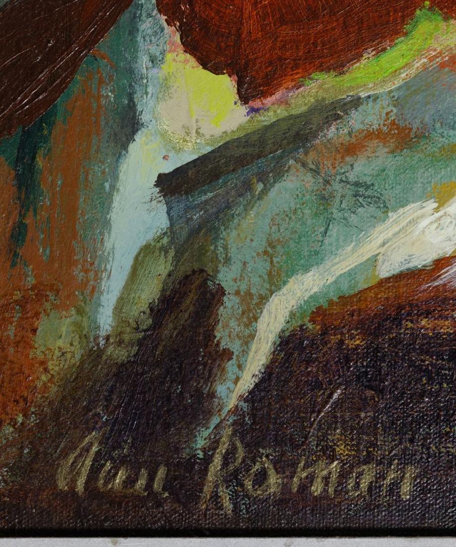 Ann Roman (American, 20th Century) Oil on Canvas - 4