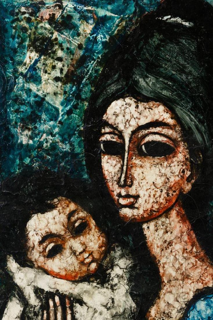 Enrico Campagnola (Swiss, 1911-1984) Oil on Canvas - 2
