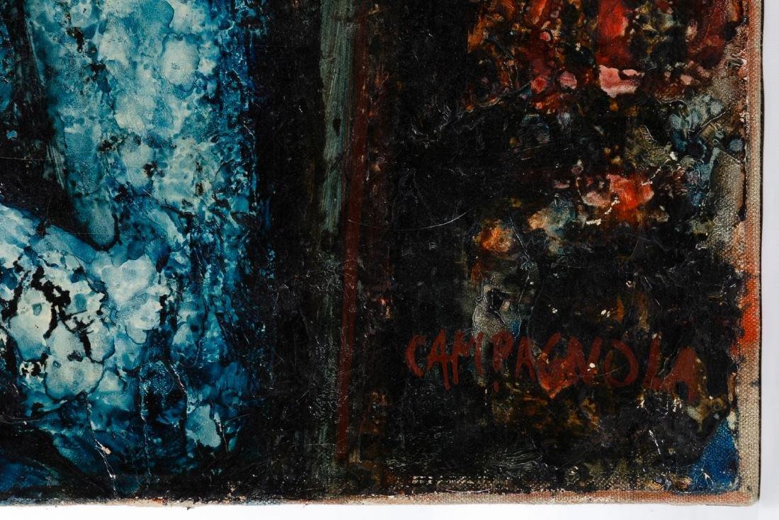 Enrico Campagnola (Swiss, 1911-1984) Oil on Canvas - 3