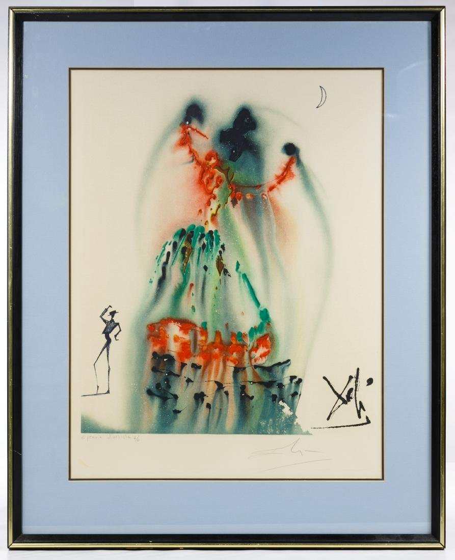 Salvador Dali (Spanish, 1904-1989) 'The Habanera'