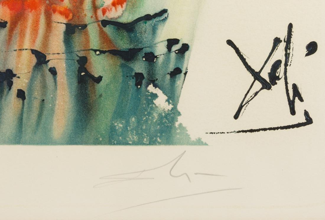 Salvador Dali (Spanish, 1904-1989) 'The Habanera' - 3