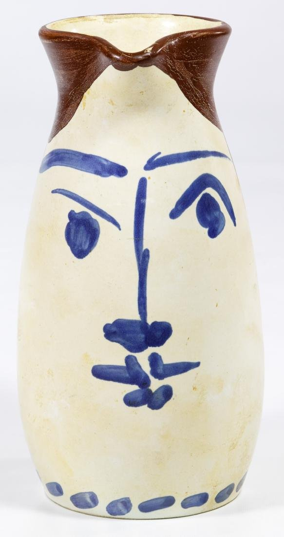 Pablo Picasso (Spanish, 1881-1973) Ceramic Tankard