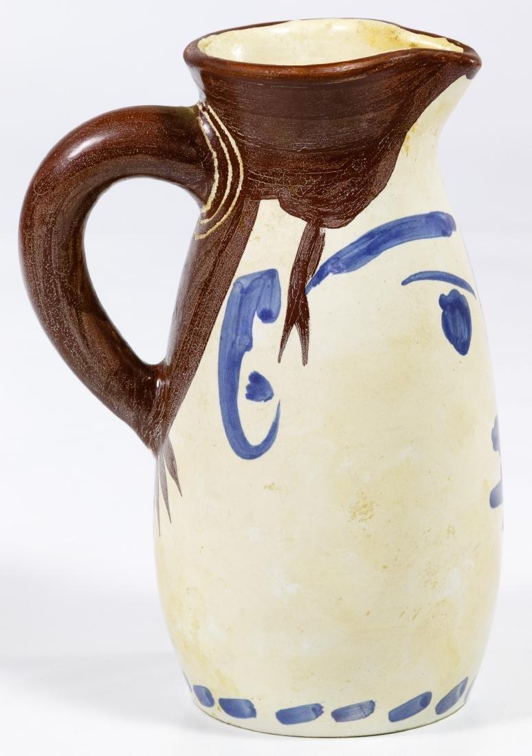 Pablo Picasso (Spanish, 1881-1973) Ceramic Tankard - 2